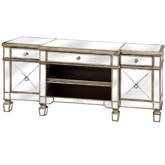 Carlyon Mirrored TV Unit - Special Order
